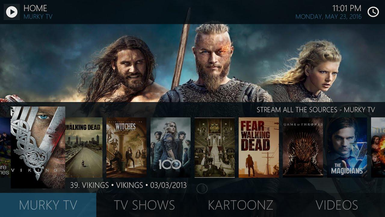Kodi Easy Trakt tv List Widgets