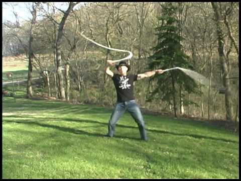 Multiple world record whip cracker