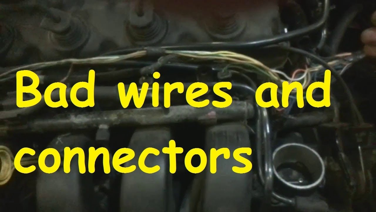 small resolution of chrysler fuel injector bad wires and connectors bad starting