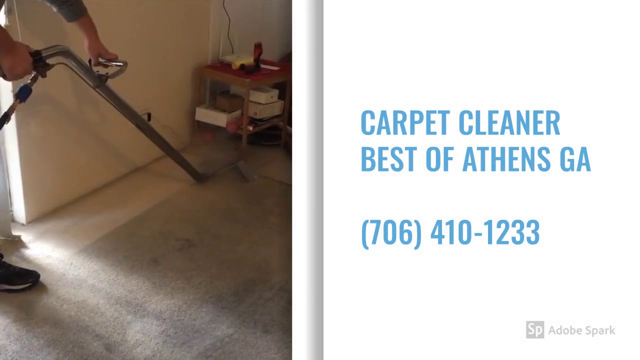 Carpet Cleaner Best of Athens GA - (706