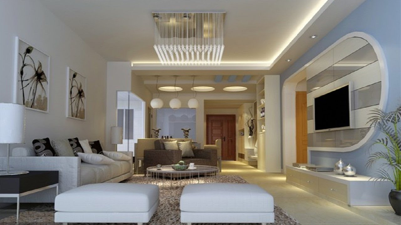 30 The Best Living Room Designs Modern TV Cabinet Wall ...