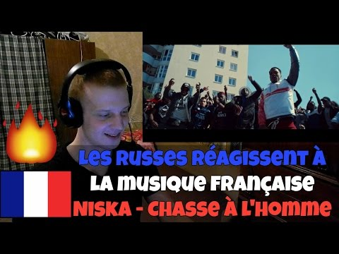 RUSSIANS REACT TO FRENCH TRAP | Niska - Chasse à l'homme | REACTION TO FRENCH TRAP
