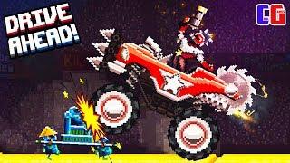 Drive Ahead ПОБЕДИЛ ДВУХ БОССОВ Рейд на БОССА снова ОТКРЫТ Битва тачек Драйв Ахед от Cool GAMES