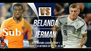 Belanda vs jerman malam ini/prediksi