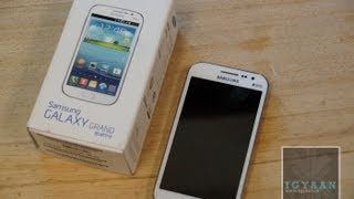 Samsung Galaxy Grand Quattro  / Galaxy Win i8552 Unboxing and Hands on Review - iGyaan