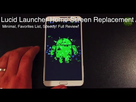 Lucid Launcher For Android Home Screen Replacement APP [FULL REVIEW]