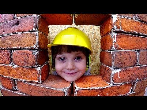 Children&39;s museum Pretend Play BUILDER Kids Indoor Playground Family Fun Baby Songs Nursery Rhyme