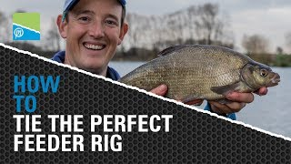 **TACKLE ROOM TIPS** - How To Tie The Perfect Feeder Rig!