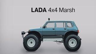 АВТОВАЗ опубликовал короткое видео с LADA 4x4 Marsh