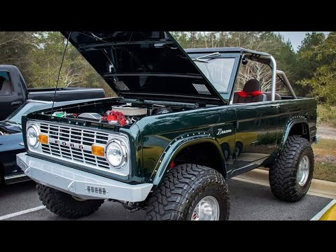Gorgeous  Ford Bronco @ Tallahassee Cars And Coffee
