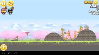 Angry Birds Seasons Cherry Blossom Level 1 14  154430