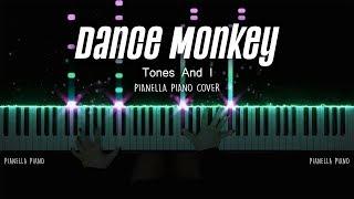 Download lagu TONES AND I - Dance Monkey | Piano Cover by Pianella Piano