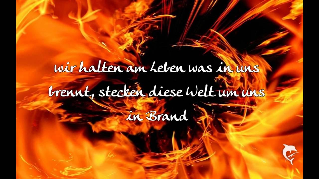 haudegen feuer und flamme