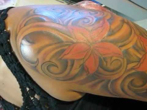 Tatuajes De Flores Sexys Media Manga Youtube