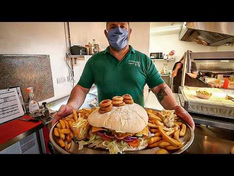 THE VIKING BURGER CHALLENGE | 10LB GIANT BURGER | C.O.B. Ep.175