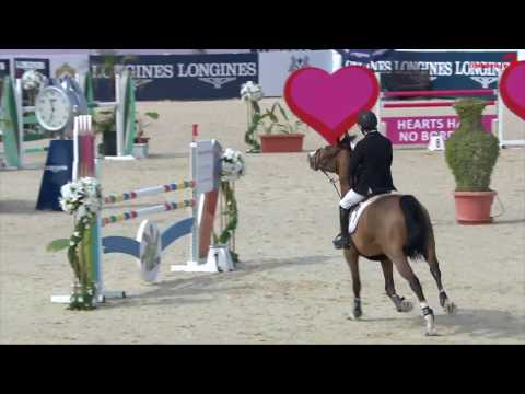 Interview with Michael Pender Al Shira'aa Horse Show Abu Dhabi