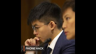 Hong Kong activist Joshua Wong says phone hacked by police