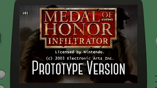 Medal of Honor: Infiltrator | GBA Prototype Build