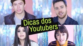 YOUTUBERS DÃO DICAS DE COMO FAZER SUCESSO NO YOUTUBE