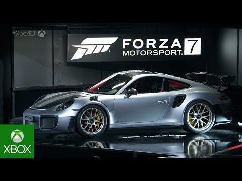 Forza Motorsport 7 E3 2017 Briefing