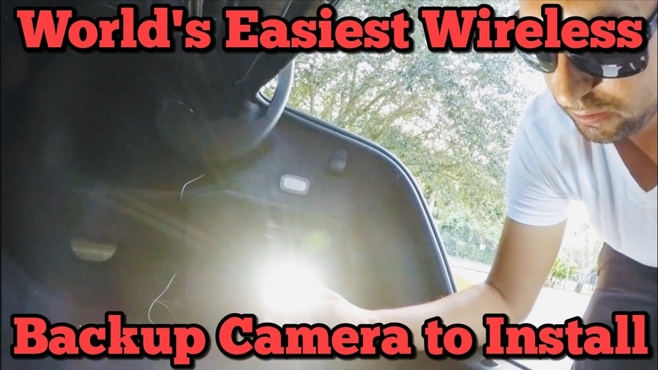 small resolution of worlds easiest wireless backup camera to install auto vox m1w