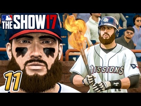STARKS' BAT STAYS HOT! - MLB The Show 17 Road to the Show Ep