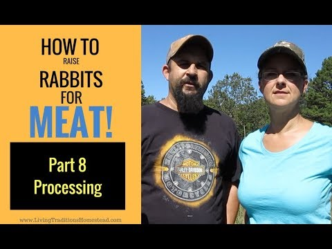 Raising Rabbits For Meat Part 8:  The Final Step