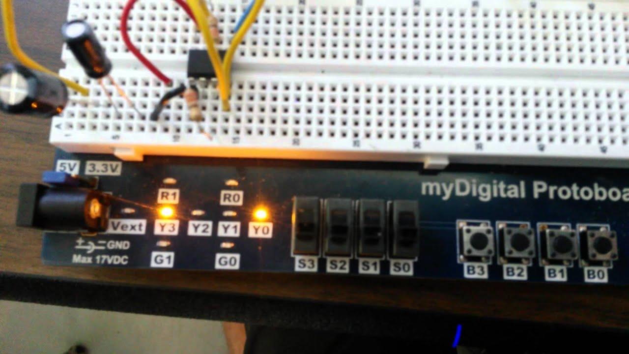555 Timer Based Electronic Code Lock Circuit Circuits 555timervoltagecontrolledoscillator 125 Using A