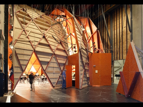 Moveable Orchestra Shell & Room Enclosure | Globe-News Center for the Performing Arts