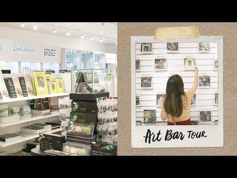 🎨Art Bar (Art Store Tour) | Abbey Sy