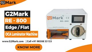 Baixar RE-800 All In One OCA Machine Available At G2Mark , Sales Enquire Call / WhatsApp : 9830833133