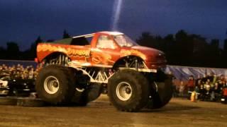 Monster Truck stunt show