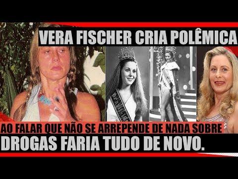 VERA FISCHER CRIA POLEMICA AO FALAR NÃO ARREPENDO DE NADA DE TODAS AS DROGAS