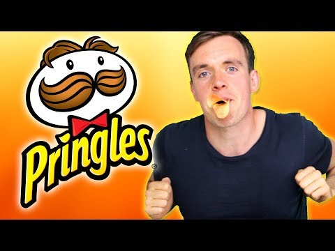 DZL - Irish people try American Pringles for the first time