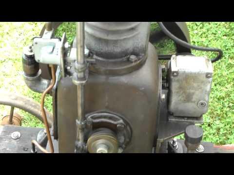 air compressor converted to engine