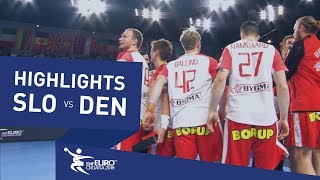 Highlights | Slovenia vs Denmark | Men's EHF EURO 2018