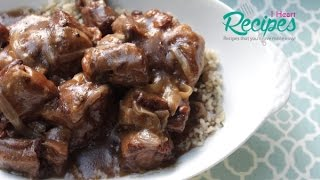 Southern Smothered Oxtails in the Slow Cooker  - I Heart Recipes