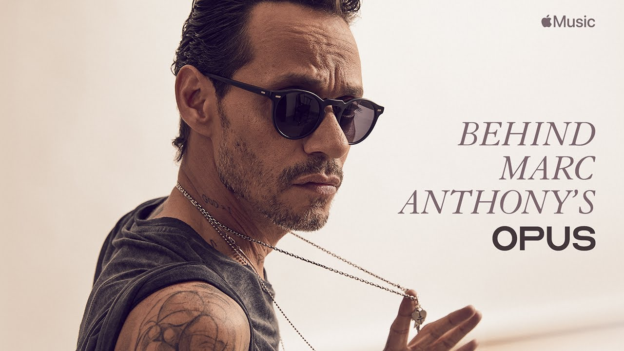 Behind Marc Anthony S Opus Film Preview Apple Music Youtube