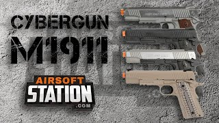 Cybergun Colt 1911 Overview - Airsoft Station