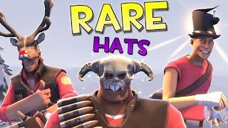 TF2: Extremely Rare Hats! Painted Weapons. UNUSUAL GIBUS & More [Viewer Requests]