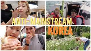 TEMPAT2 ANTI MAINSTREAM KOREA: MAKEUP GRATIS, NAIK YACHT, STREET FOOD ENAK DAN GARDEN ESTETIK  👏🏻