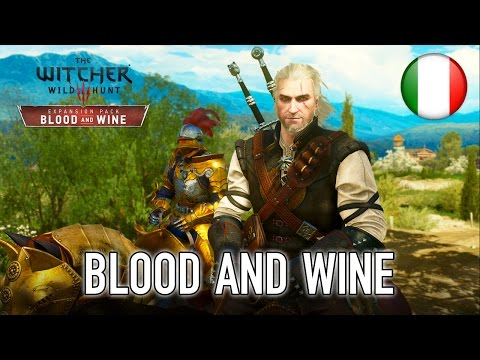The Witcher 3: Wild Hunt - PS4/PC/XB1 - Blood and Wine (teaser trailer) (Italian)