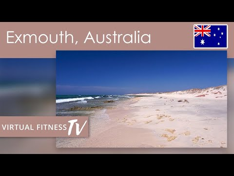Australian Mindfull Medative Beach Walk With Didgeridoo And Sounds Of The Waves