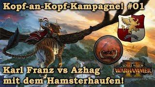 Kopf-an-Kopf Multiplayer-Kampagne #01 Steel Faith Mod - Total War: Warhammer 2 deutsch