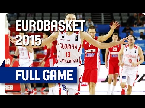 Georgia v Croatia - Group C - Full Game - Eurobasket 2015
