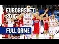 Georgia v Croatia - Group C - Full Game - Eurobasket 2015