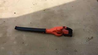 Black & Decker 40v Max LSW40C Cordless Sweeper