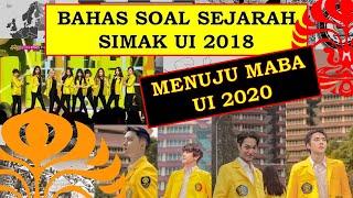 PEMBAHASAN SIMAK UI 2018 - SEJARAH