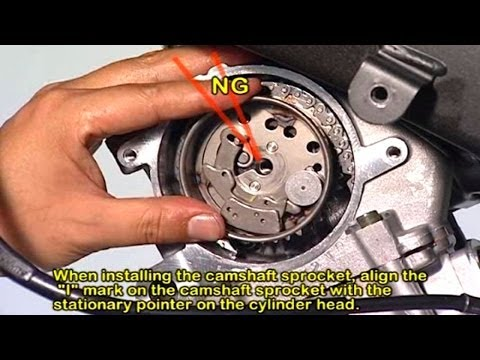 How to install Motorcycle RACING CAMSHAFT