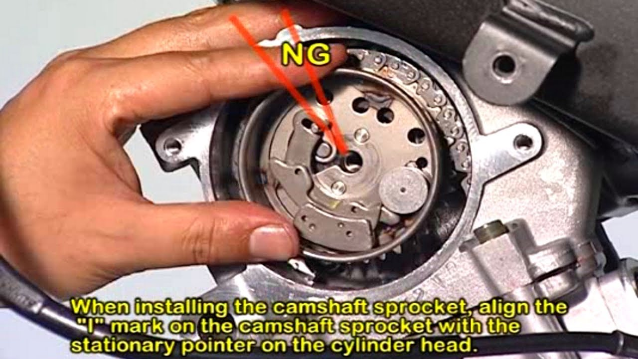 how to install motorcycle racing camshaft youtube. Black Bedroom Furniture Sets. Home Design Ideas